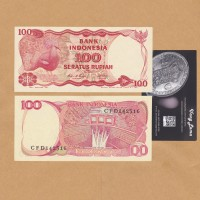 uang kuno 100 Rupiah 1984