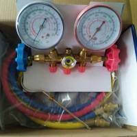 Double Manifold Gauge Refrigerant R22-AC