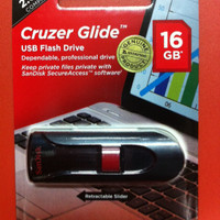 Flashdisk Sandisk 16 Gb Cruzer Glide CZ60 USB 3.0 Flash Drive