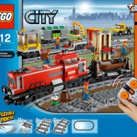 LEGO 3677 : Red Cargo Train