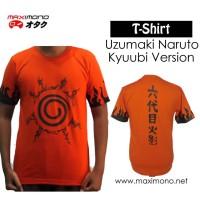 Kaos Anime Naruto Segel Kyuubi