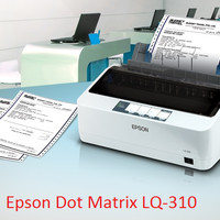 harga Epson LQ310 Dot Matrix Tokopedia.com