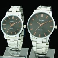 harga jam tangan couple alba CR413 ( bonia cartier seiko swiss army rolex ) Tokopedia.com