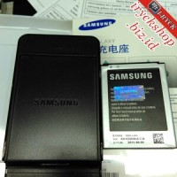 extra battery kit ( baterai + desktop ) Hp Samsung core duos 1 i8260