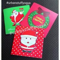 Kartu Natal Imut, Christmas Greeting Card, Ucapan Merry Xmas