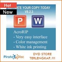 AcroRIP v8.2.3 (Software printer DTG)