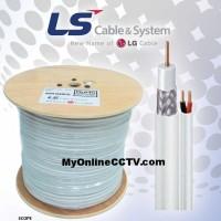 Kabel Camera CCTV LG LS Coaxial + Power RG59 RG6