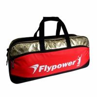 Tas Badminton Flypower Safir 3 Black/Red