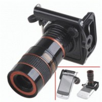 harga Mobile Phone Telescope Lens 8x Optical Zoom With Universal Clamp Black Tokopedia.com