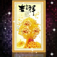 DIY Diamond Painting 5D. Pohon Uang (40x80cm) D34.1