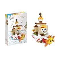 Lego Nano Block Lele Brother One Piece Ship 6228
