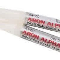 Lem Aron Alpha Super Kuat untuk Batu Logam Kaca Akik Instant Glue