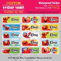 harga Sticker Label Elmo - Stiker nama waterproof Tokopedia.com