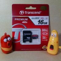 harga MICROSD TRANSCEND 16GB CLASS10 SPEED 400X Tokopedia.com