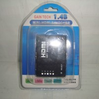HDMI Switcher 5 Input HDMI Female To 1 Output HDMI Female + Remote