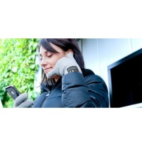 3-Finger Screen Touching Bluetooth 3.0 Hand Gloves for Smarphone