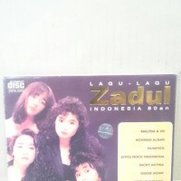 CD ORIGINAL VARIOUS ARTISTS - LAGU-LAGU ZADUL INDONESIA 80AN
