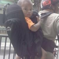 Tas Gendongan Bayi Unik & Savety for Adventure ardaniindonesia Orange