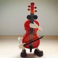 Jual Kotak Musik Biola Goyang Murah