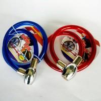 Cable Lock Kunci Gembok Sepeda & Motor, Berkualitas Super Tebal