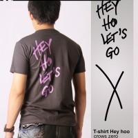 KAOS V-Neck Genji Takiya - T-shirt Heyho (CROWS ZERO )