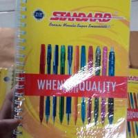 Note Book Standard Murah Sisa Event Terbatas 10 Buah