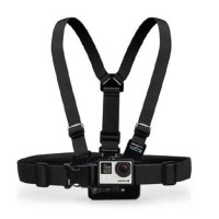 TMC Chest Harness Belt Strap with Head Belt and Quick Clip