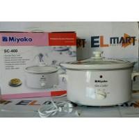 Miyako slow cooker SC 400/miyako asli baru garansi resmi