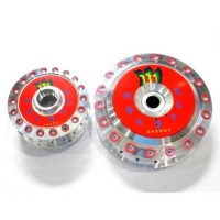 TROMOL SET VARIO MONSTER RED MOTOR