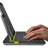 Keyboard - Logitech - K480 Bluetooth Multi-Device Keyboard