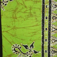 Batik Gajah Oling Hijau pupus Daun