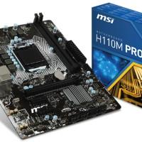 harga MSI H110M-PRO VH (LGA1151, H110, DDR4) Tokopedia.com