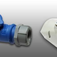 Mennekes Wall Mounting Plug N Socket 16 Ampere 3 Pin