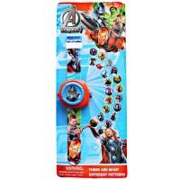 Mainan Bayi Anak Jam Proyektor Avengers