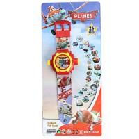 Mainan Bayi Anak Jam Proyektor Planes