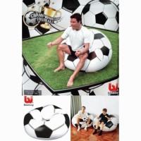 Sofa - Kursi Tiup - Tempat Duduk Santai Balon Bentuk Soccer BOla Kaki