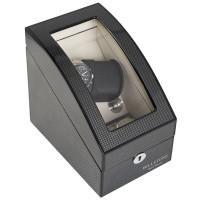 BillStone Avanti Plus - 1 Watch Winder for 2+2 Watches - Carbon Fiber