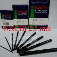 harga NACHI Mata Bor Besi 2.5 mm Tokopedia.com