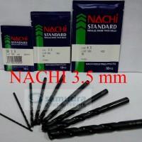 harga NACHI Mata Bor Besi 3.5 mm Tokopedia.com