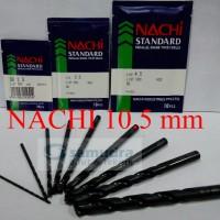harga NACHI Mata Bor Besi 10.5 mm Tokopedia.com