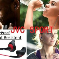 JVC HA-ENR15 Gumy Sport Earbud With Mic Headset Original