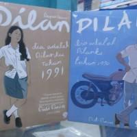 Novel Dilan 1 dan 2 (1set) Harga Diskon