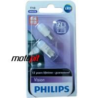 Philips LED Vision T10 (lampu senja motor & mobil)
