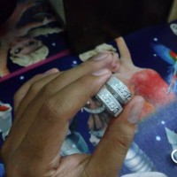 Cincin Kawin cincin tunangan pernikahan huruf aksara jawa