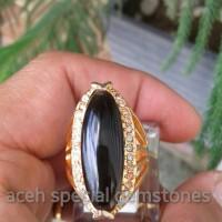 harga Cincin Batu Black Safir _ Wanita Tokopedia.com