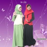 Baju Muslim Anak / Baju Muslim Anak Perempuan / Busana Muslim Anak
