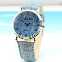 FeiFan M074-1G Denim Theme Fashion Watch (Jam Tangan Motif Jeans)