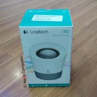 Logitech Multimedia Mini Speaker Z50 (Grey) - Original & Resmi