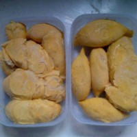 Jual Durian Kupas Medan Daging durian Murah