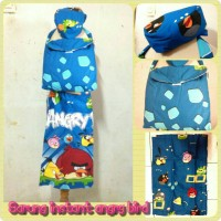 SARUNG ANAK INSTANT ANGRY BIRD SIZE L (6-8thn)